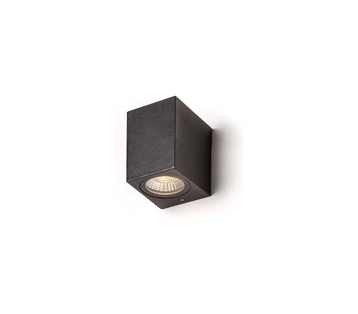 rendl light studio – Kubi l væglampe 3w led - antracit fra lepong.dk