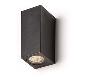 KUBI l væglampe 3W LED - Antracit