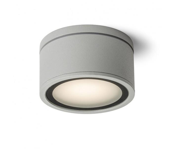 Image of   MERIDO påbygningsspot GX53 11W - Sølvgrå
