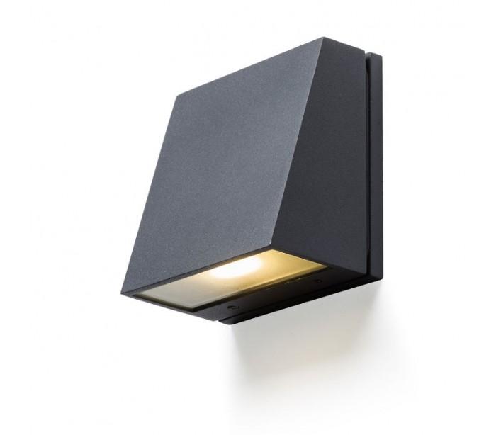Væglampe Led - GIGI v u00e6glampe 3,3W LED Antracit