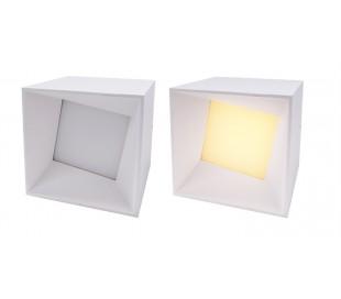Syke I justerbar påbygningsspot 7W LED - Hvid