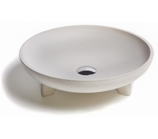 Håndvask til bord Ø43,5 cm - Beton