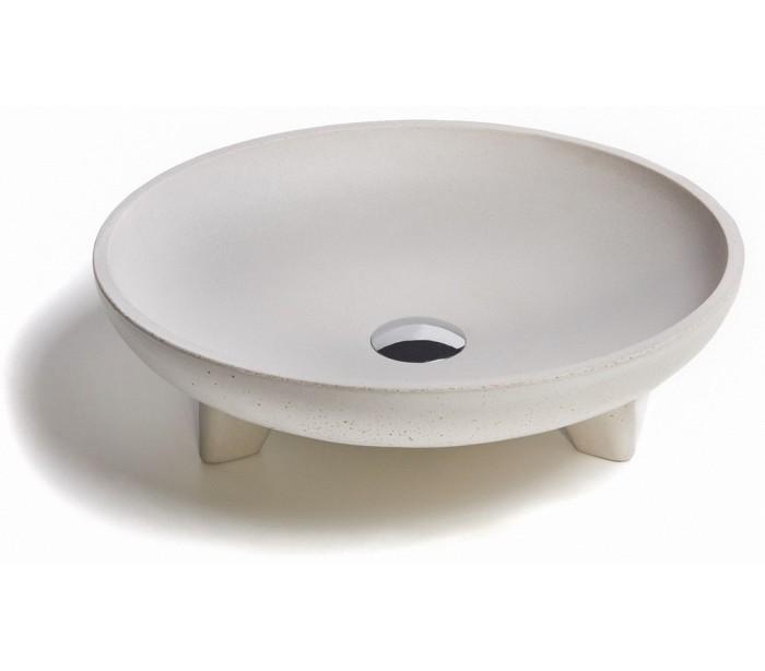 Håndvask til bord Ø43,5 cm – Beton – pris 3899.00