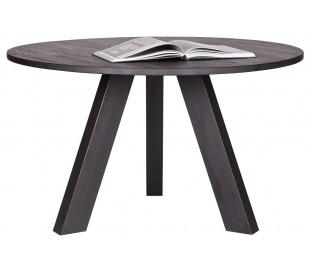 Spisebord i ubehandlet eg H77 x Ø129 cm - Natur