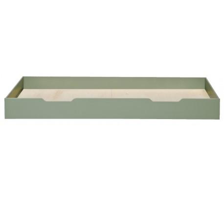 Sengetøjsskuffe H20 x 198 x 94 cm - Rustik grøn