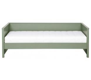 Børneseng 208 x 100 cm ekskl. bund - Rustik grøn