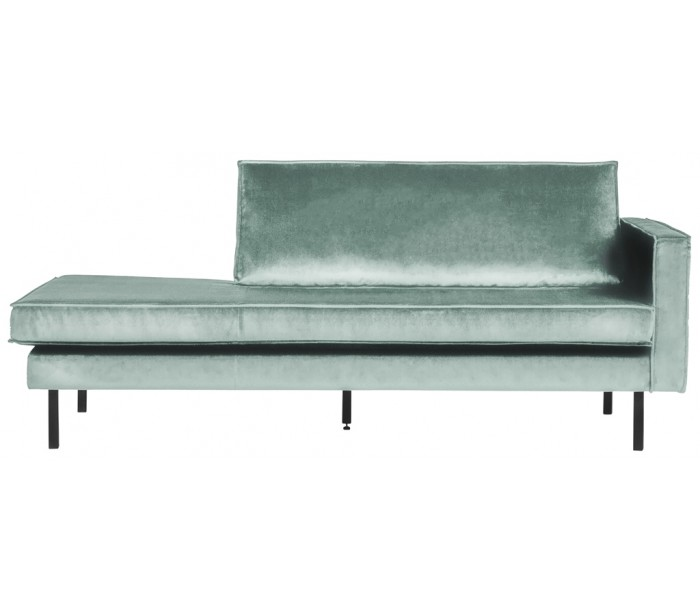 Image of   Daybed sofa i velour B206 cm - Mint
