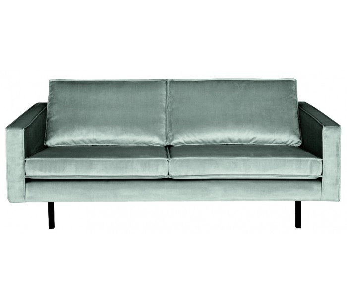 Image of   2,5-personers sofa i velour B190 cm - Mint