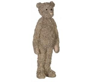 Teddy i polyresin H46 cm x 17 cm x 10 cm