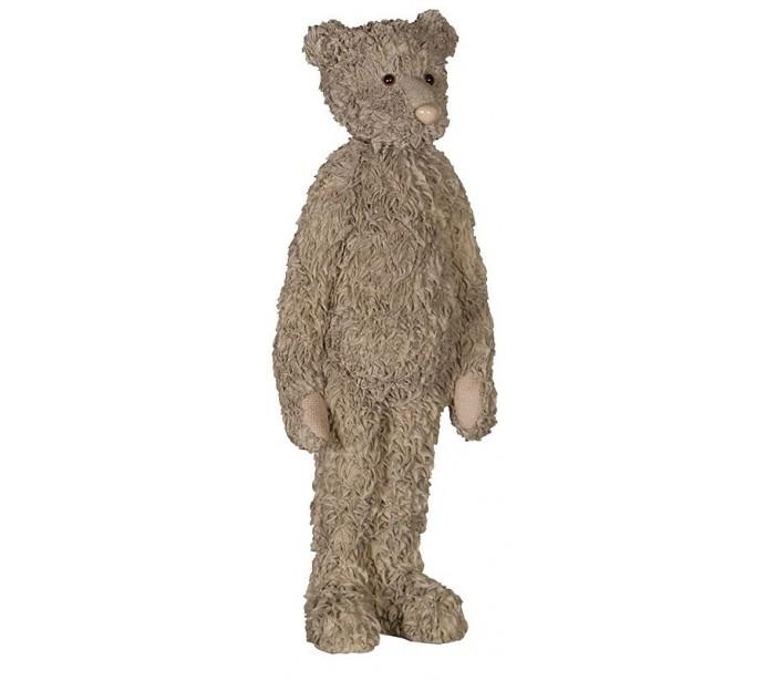 Image of   Teddy i polyresin H46 cm x 17 cm x 10 cm
