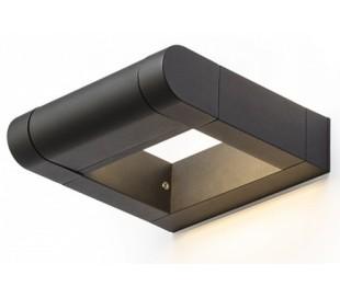 AQUE udendørs væglampe 8W LED - Mat sort