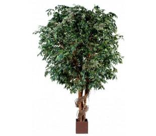 Stort kunstigt Ficustræ H380 cm