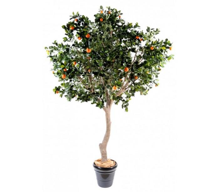Image of   Stort kunstigt Appelsintræ H280 cm