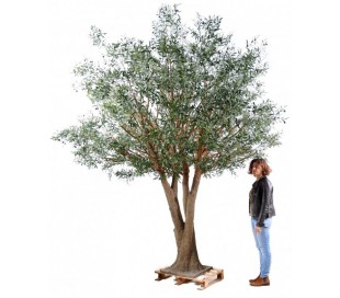 Stort kunstigt Oliventræ H350 cm
