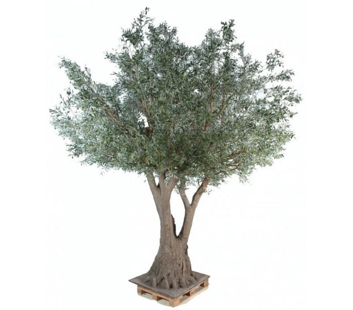 Stort kunstigt Oliventræ H430 cm
