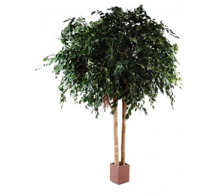 Stort kunstigt ficustræ H350 cm
