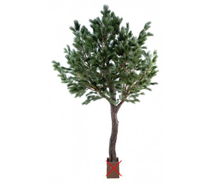Image of   Stort kunstigt fyrretræ H340 cm
