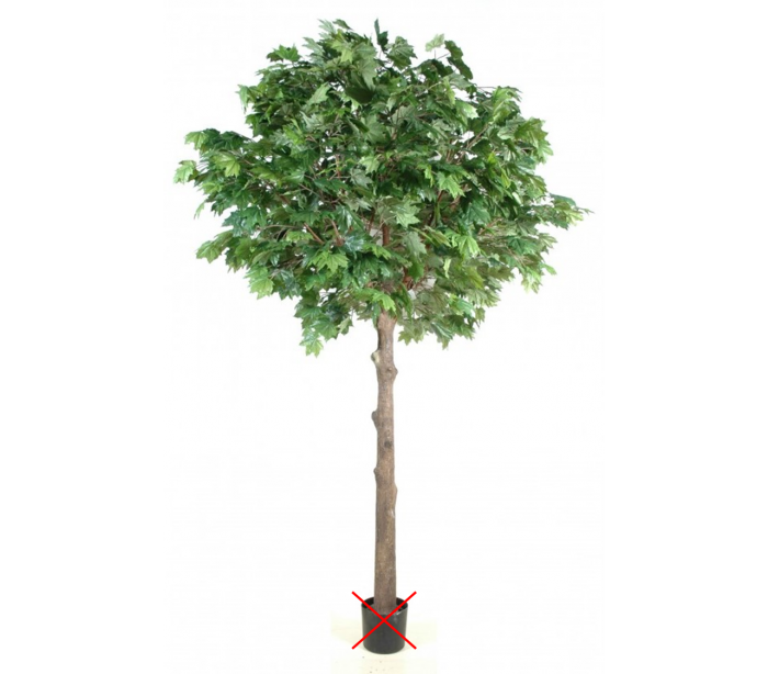 Image of   Stort kunstigt træ H400 cm