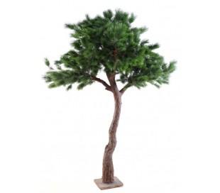 Stort luksuriøst kunstigt fyrretræ H280 cm
