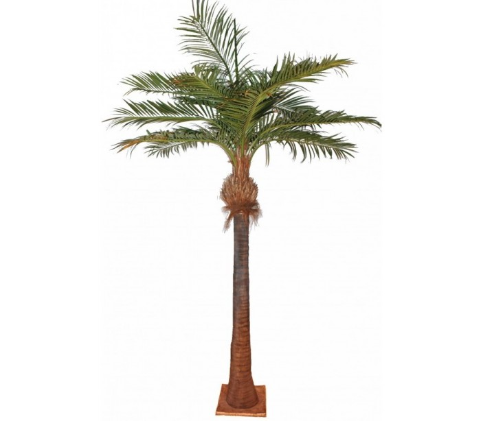 Stort kunstigt palmetræ H400 cm fra Selected by Lepong