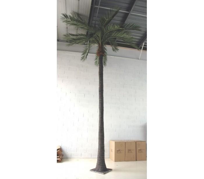 Image of   Stort kunstigt palmetræ H700 cm