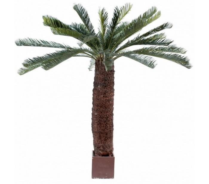 Image of   Stort kunstigt palmetræ H200 cm