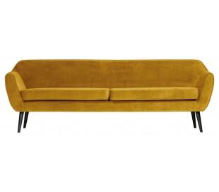 3-personers sofa B230 cm - Okker velour