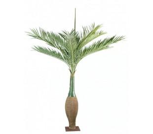 Stort kunstigt palmetræ H350 cm