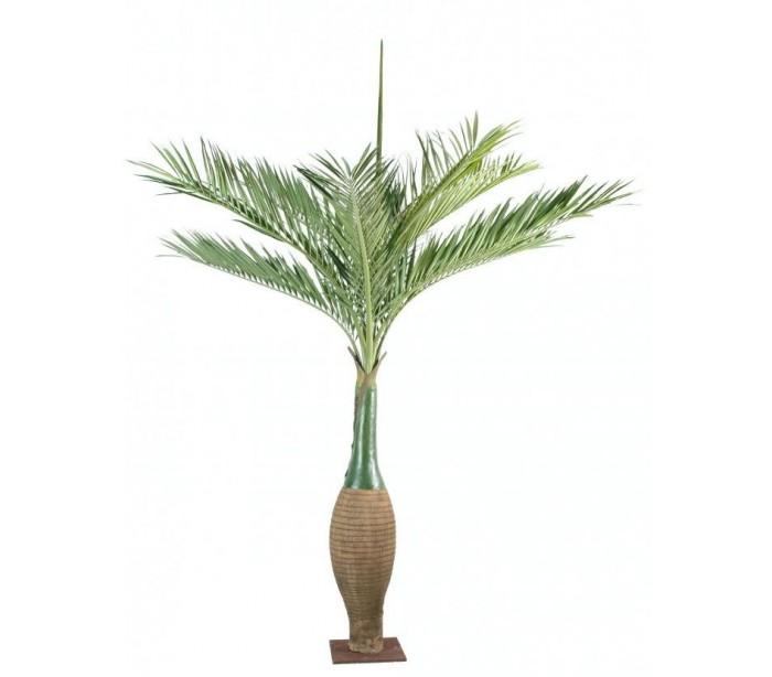 Image of   Stort kunstigt palmetræ H350 cm