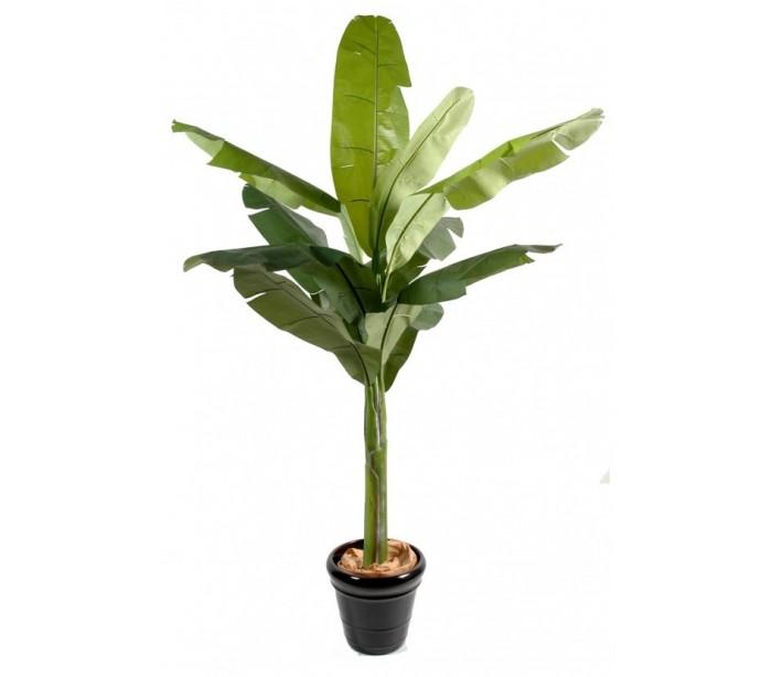 Stor kunstig bananpalme h350 cm fra venture design fra lepong.dk
