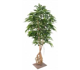 Stor kunstig ficus palmetræ H210 cm