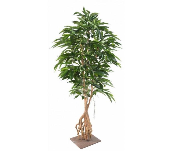 Image of   Stor kunstig ficus palmetræ H210 cm