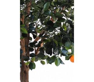 Stort kunstigt appelsintræ H210 cm