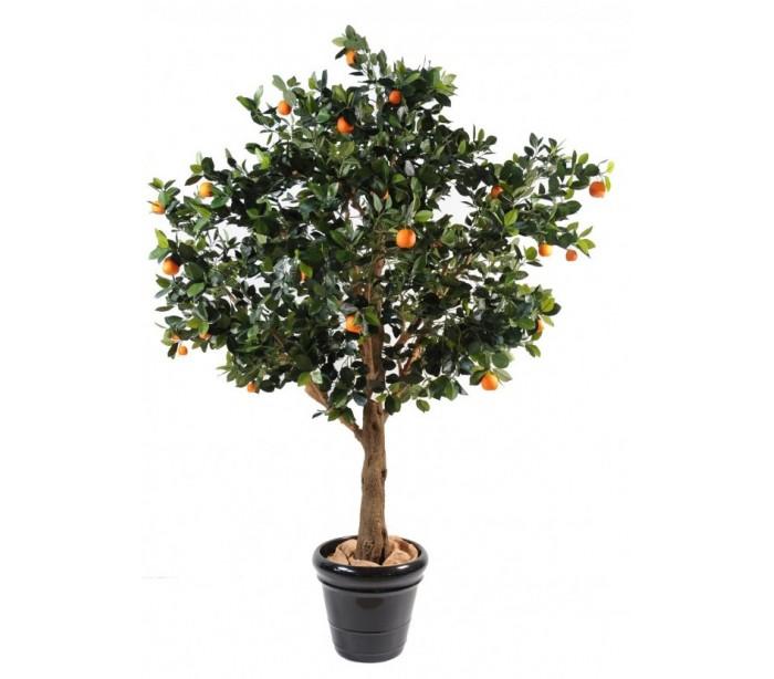 Image of   Stort kunstigt appelsintræ H210 cm