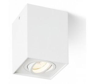 ENKI EDG Påbygningsspot GU10 kipbar - Hvid