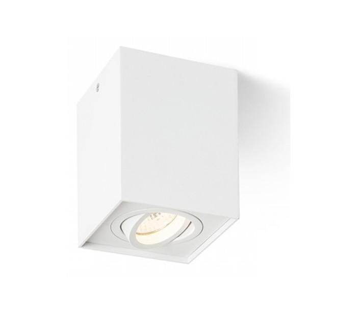 rendl light studio – Enki edg påbygningsspot gu10 kipbar - hvid på lepong.dk