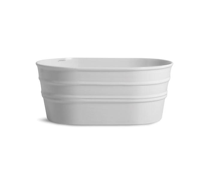 Tinozza håndvask i keramik 58,5 x 40 cm - mat hvid fra selected by lepong fra lepong.dk
