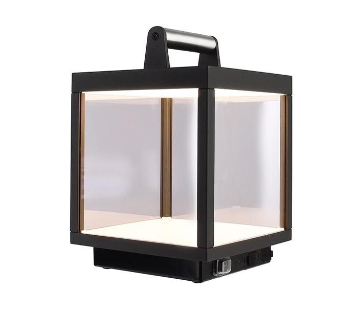 deko light Lacertae usb bordlampe h27 cm - mørkegrå fra lepong.dk