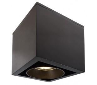 Ceti loftslampe 11W LED Ø8,5 cm - Sort