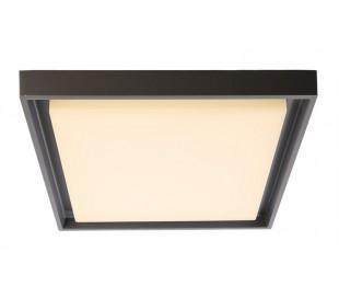 Arneb plafond 30W LED 34 x 34 cm varm hvid - Mørkegrå