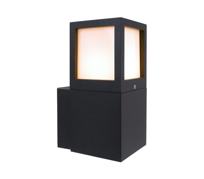 Facado a væglampe h24,5 cm e27 - antracit fra deko light fra lepong.dk