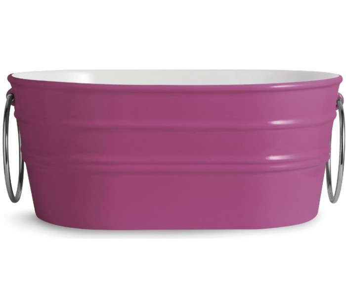 Tinozza håndvask i keramik 58,5 x 40 cm - lilla fra horganica fra lepong.dk