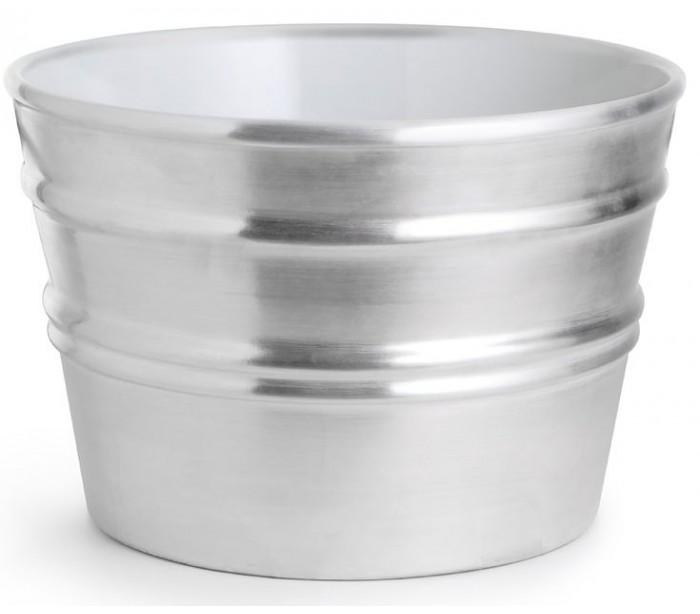 horganica – Bacile håndvask i keramik ø46,5 cm - sølv på lepong.dk