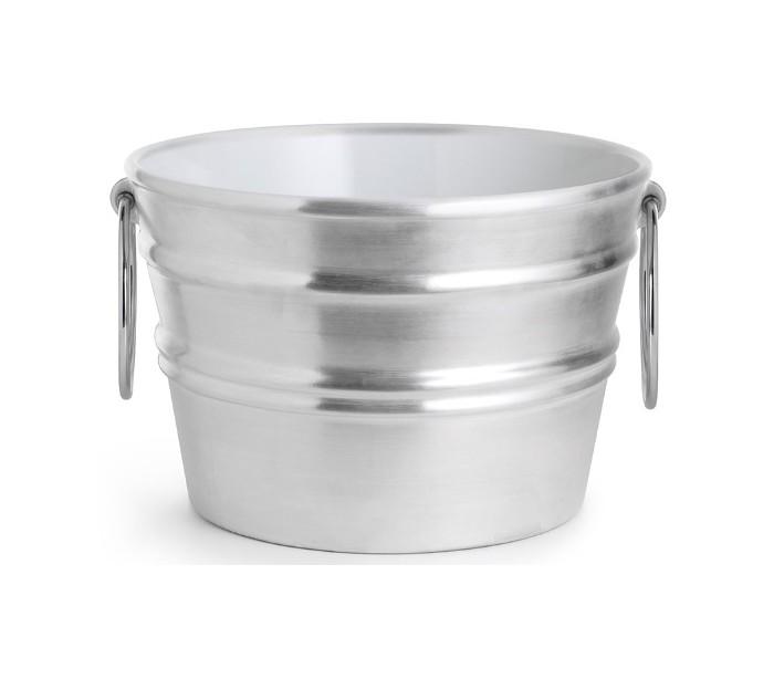 Bacile håndvask i keramik ø46,5 cm - sølv fra horganica fra lepong.dk