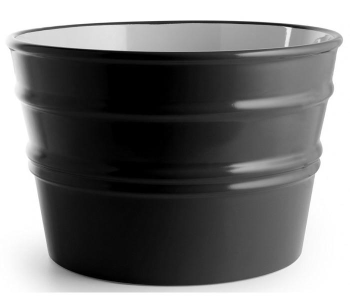 Bacile håndvask i keramik ø46,5 cm - sort fra hinkley lighting fra lepong.dk