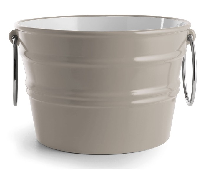 Image of   Bacile håndvask i keramik Ø46,5 cm - Mat ler grå