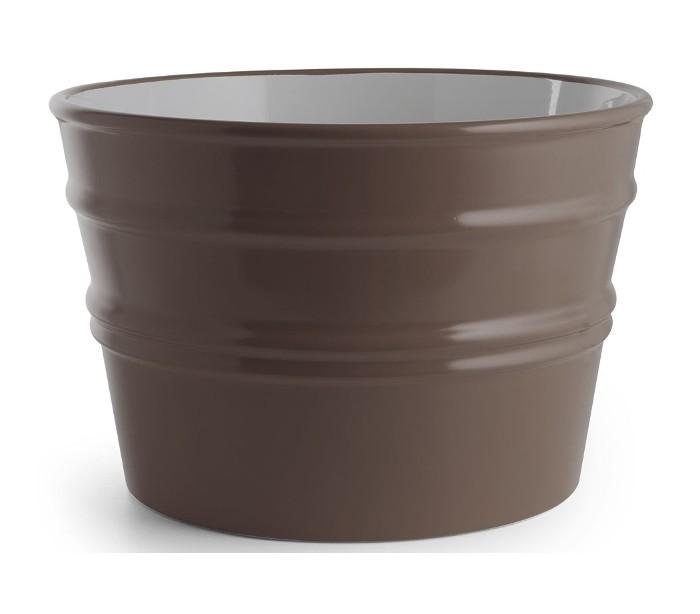 Image of   Bacile håndvask i keramik Ø46,5 cm - Mat basalt