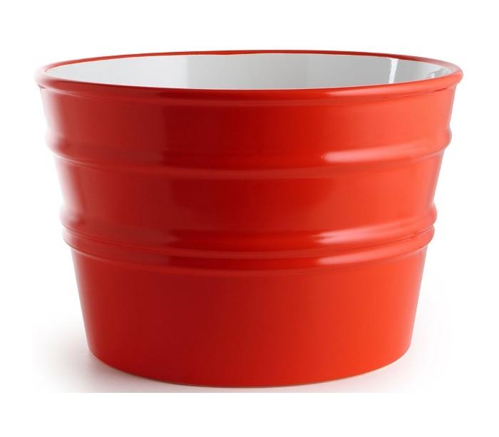 Image of   Bacile håndvask i keramik Ø46,5 cm - Passionsrød