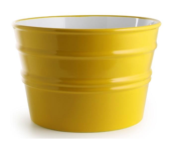 Bacile håndvask i keramik ø46,5 cm - solgul fra horganica fra lepong.dk