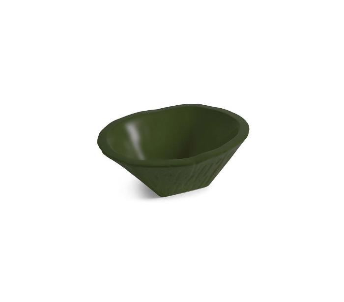 Image of   Terra håndvask i keramik 54 x 46 cm - Engelsk grøn